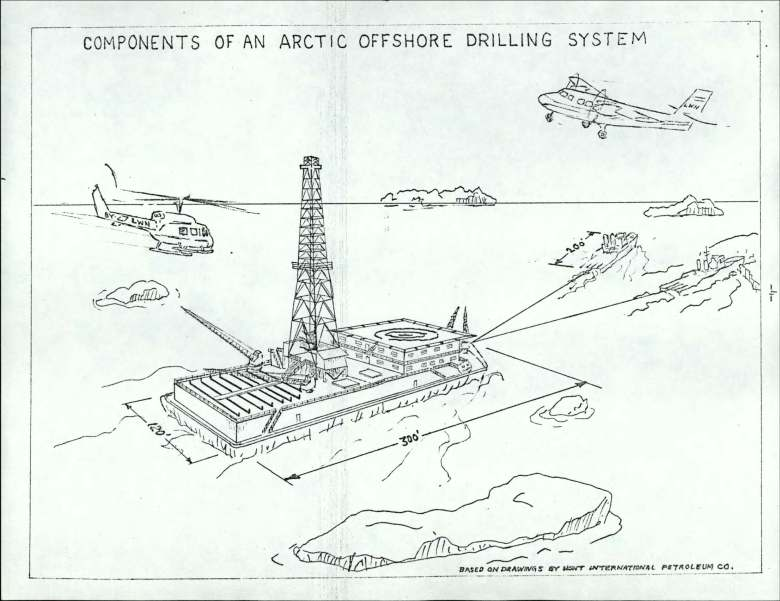 diagram of offshore drilling